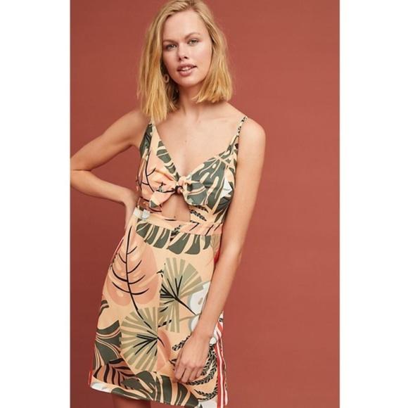 Anthropologie Dresses & Skirts - Anthropologie Farm Rio Palm Mini Dress